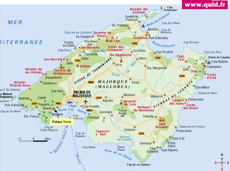 Infos sur carte plage majorque arts et voyages - Ile d oleron que faire ...